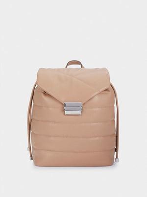 Рюкзак бежевого цвета | 5614362