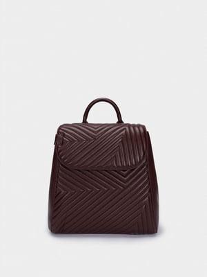 Рюкзак бордовий | 5614407