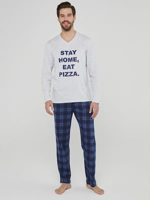 Пижама: пуловер и брюки | 5615090