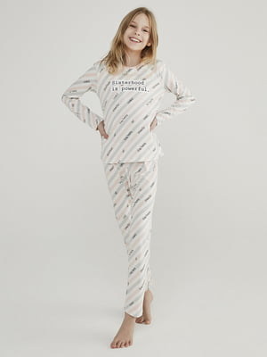 Піжама: лонгслів і штани | 5615151