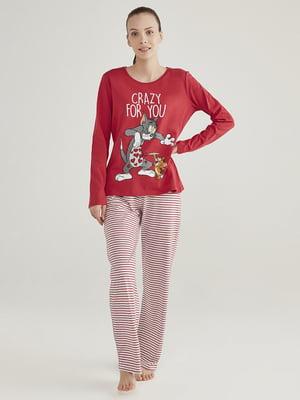 Пижама: лонгслив и брюки | 5615152