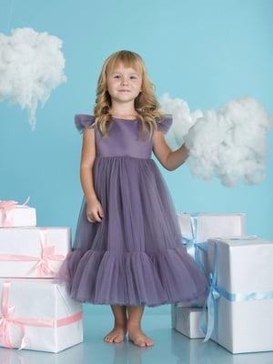 Платье баклажанного цвета | 5615217