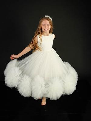 Сукня молочного кольору | 5615218