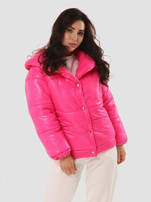 Пуховик розовый   5615321