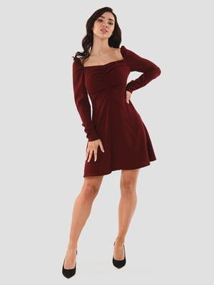 Сукня бордова | 5615324