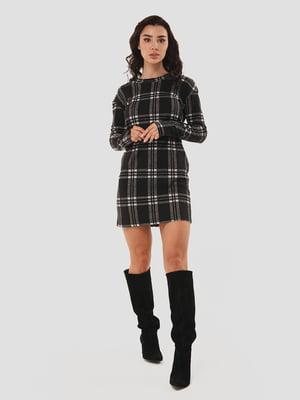 Сукня чорна в клітинку | 5615334