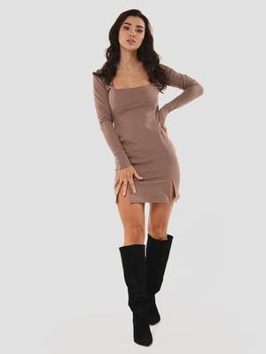 Сукня кольору мокко | 5615335