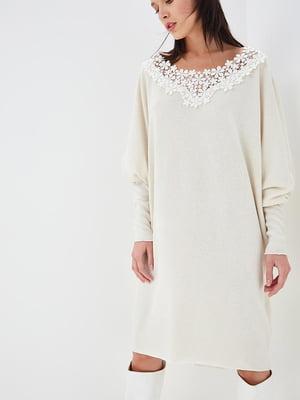 Платье молочно-белое | 5615353