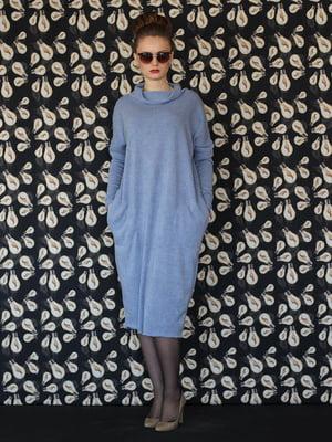 Платье голубое | 5615355