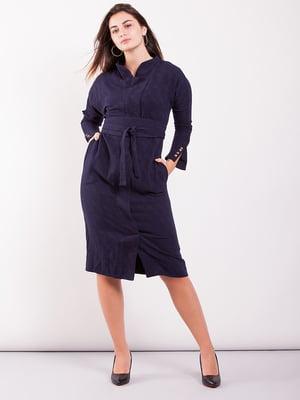 Сукня темно-синя | 5615357