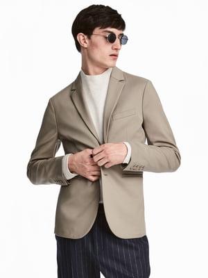 Пиджак серо-бежевый | 5614510