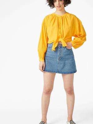 Блуза оранжевая | 5614533