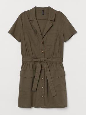 Сукня кольору хакі | 5614718