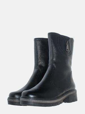 Полусапожки черные | 5617010