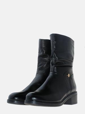 Полусапожки черные | 5617012