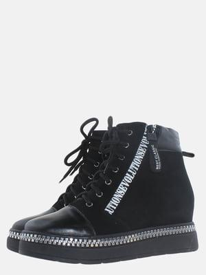 Ботинки черные | 5617036