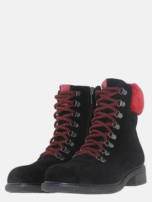 Черевики чорно-червоні | 5614159