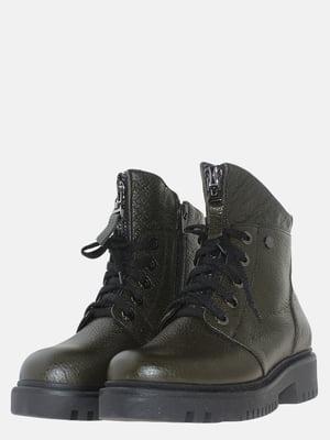 Ботинки цвета хаки | 5614161