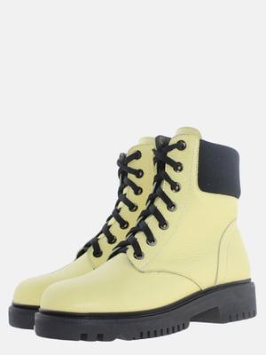 Ботинки желтые   5614164