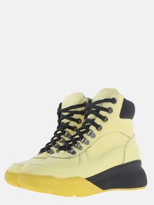 Ботинки желтые   5614165
