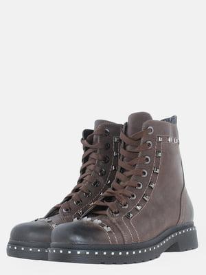 Черевики коричневі | 5614167