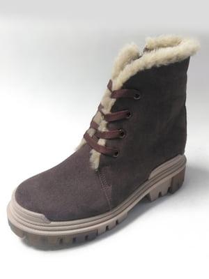 Ботинки коричневые | 5615363