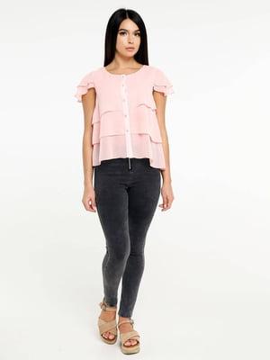 Блуза пудрового цвета | 5617129