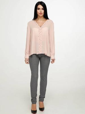 Блуза пудрового цвета | 5617134