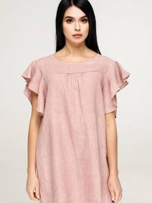 Блуза пудрового цвета | 5617142