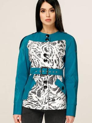 Куртка комбинированной расцветки | 5617277