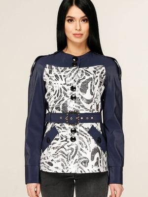 Куртка комбинированной расцветки | 5617278