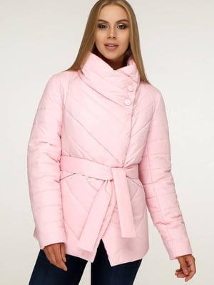Куртка светло-розовая | 5617286