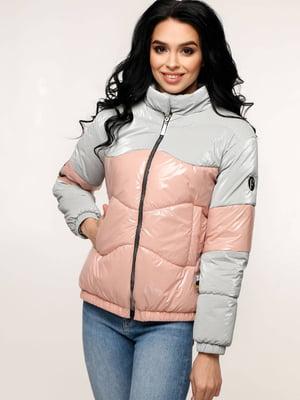 Куртка двоколірна | 5617298
