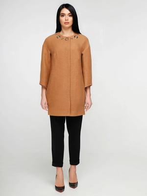 Пальто светло-коричневое | 5617321