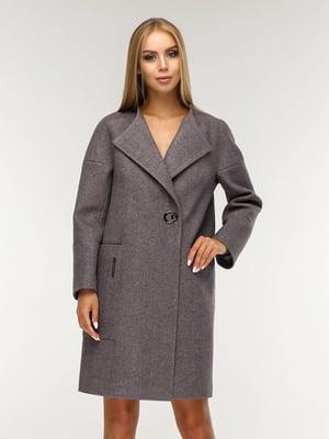 Пальто темно-сиреневого цвета | 5617600
