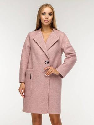 Пальто розовое | 5617601