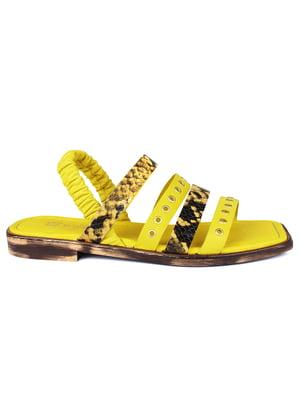Сандалии желтые | 5618197