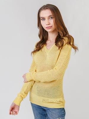 Пуловер жовтий | 5615189