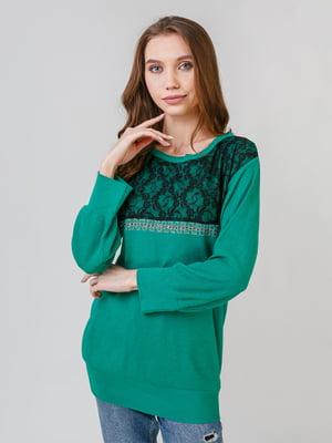 Джемпер зелений | 5615182
