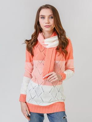 Комплект: туника и шарф | 5615318