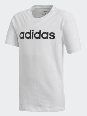 Футболка біла з принтом | 5618218