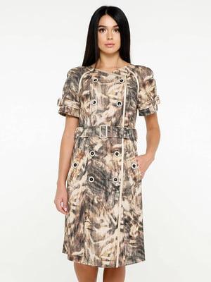 Сукня у принт   5617800
