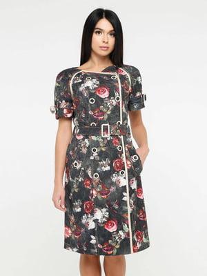 Сукня у квітковий принт   5617804