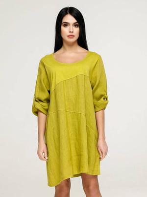 Сукня гірчичного кольору   5617810