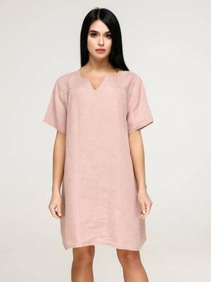 Сукня пудрового кольору   5617812