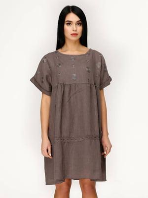 Сукня кавового кольору   5617819