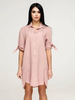 Сукня пудрового кольору   5617829