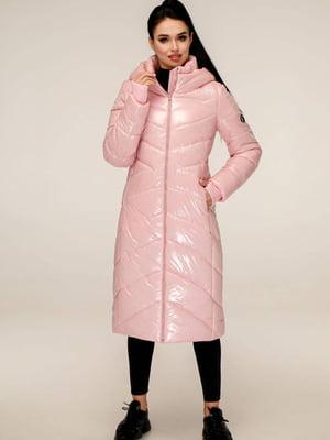 Пуховик розовый   5618095