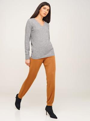 Пуловер серый | 5610368
