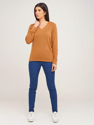 Пуловер коричневий | 5618650